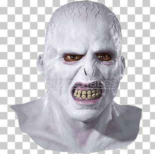Lord Voldemort Harry Potter And The Half-Blood Prince Latex Mask Halloween Costume PNG