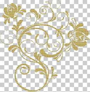 Floral Design Ornament PNG