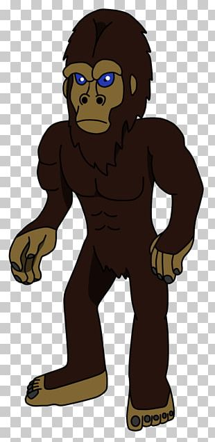 Gorilla Homo Sapiens Carnivora Legendary Creature Animated Cartoon PNG