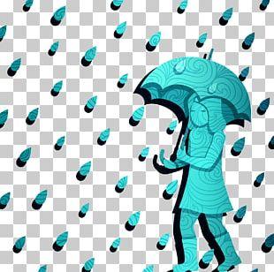 Rain Umbrella Cartoon PNG