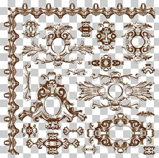 Ornament Baroque Drawing PNG