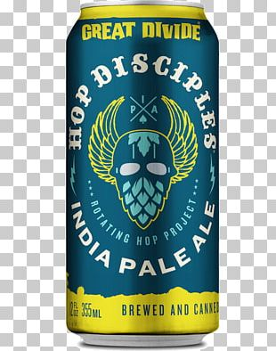 Great Divide Brewing Company India Pale Ale Beer Denver Brewery PNG