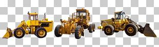 Tractor Bulldozer Heavy Machinery Excavator Architectural Engineering PNG