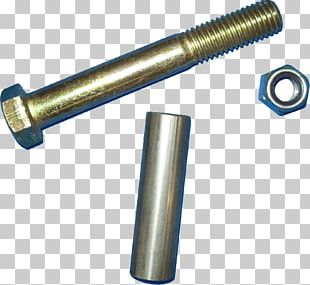Bolt Screw Fastener Nut Steel PNG