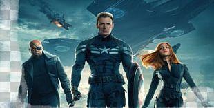 Captain America Iron Man Black Widow Film Marvel Cinematic Universe PNG