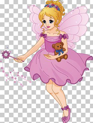 Fairy Cartoon Wand Illustration PNG