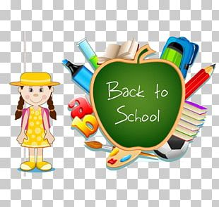 School Supplies Drawing Illustration PNG