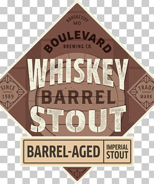 Stout Boulevard Brewing Company Irish Whiskey Beer PNG