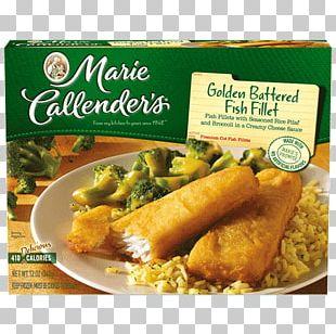 Vegetarian Cuisine Marie Callender's TV Dinner Fish Fillet Frozen Food PNG