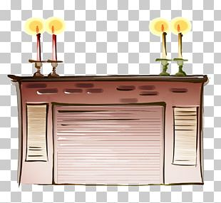 Cartoon Table High-definition Television PNG