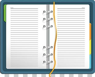 Notebook Diary Euclidean PNG