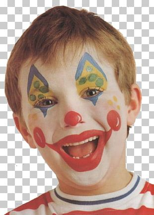 Clown Make-up Circus Face Painting PNG