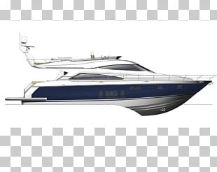 Luxury Yacht Boating Sat On The Water PNG