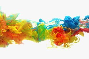 Colorful Smoke Dream PNG