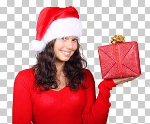 Santa Claus Gift Christmas PNG
