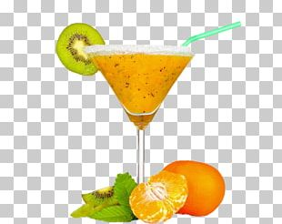 Orange Juice Cocktail Garnish Pomegranate Juice PNG