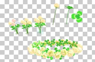Floral Design Flower Crown Wreath MMD PNG
