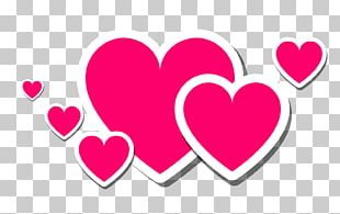 Love Text Heart PNG