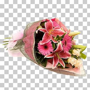 Flower Bouquet Cut Flowers Rose Flower Delivery PNG