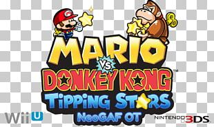 Mario Vs. Donkey Kong: Tipping Stars Mario Vs. Donkey Kong 2: March Of The Minis Wii U Video Game PNG