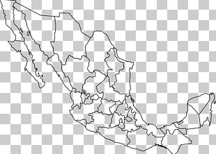 Mexico United States Blank Map Geography PNG