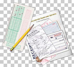 Paper Receipt Book Money Line PNG