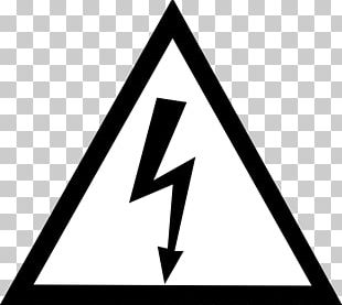 Warning Sign Electricity Hazard Symbol PNG
