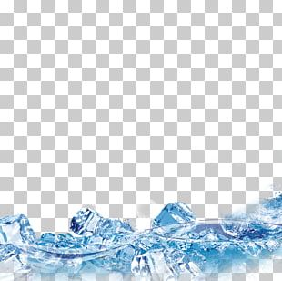 Ice Cube Fresh Water PNG