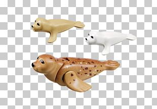 Playmobil Earless Seal Toy Block Puppy PNG