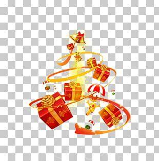 Santa Claus Christmas Gift PNG