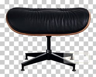 Eames Lounge Chair Charles And Ray Eames Foot Rests Rosewood PNG