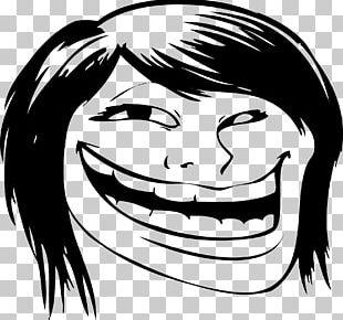 Internet Troll Trollface Rage Comic Internet Meme Decal PNG