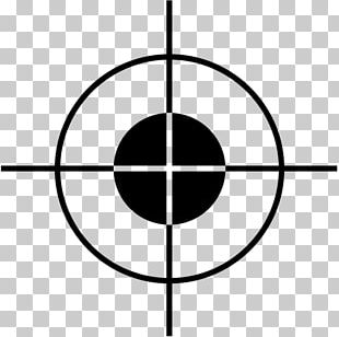 Telescopic Sight Shooting Target Sniper Rifle Stock Photography PNG