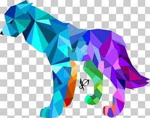 Artist Gray Wolf Drawing Geometry PNG