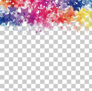 Watercolor Painting Star PNG