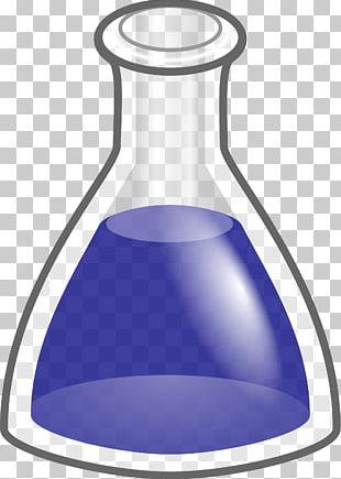Erlenmeyer Flask Laboratory Flasks Volumetric Flask Chemistry PNG