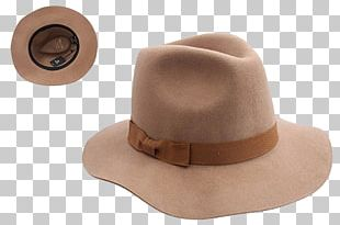 Fedora Hat Woman Product Design PNG