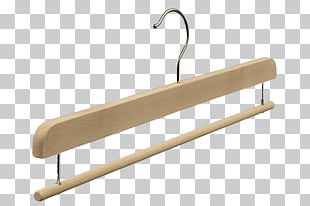Clothes Hanger Wood Pants Skirt Clothing PNG