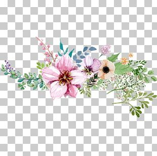 Watercolour Flowers Watercolor: Flowers Watercolor Painting Floral Design PNG