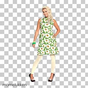 Cocktail Dress Fashion Sleeve Costume PNG