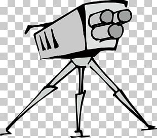 Tripod Video Camera PNG