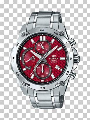Casio Edifice Watch Chronograph Brand PNG