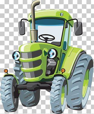 John Deere Tractor Cartoon Agriculture PNG