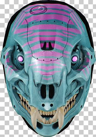 Payday 2 Payday: The Heist Overkill Software Mask Personal Protective Equipment PNG