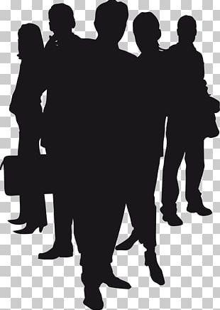 Public Relations Human Behavior Silhouette Black White PNG
