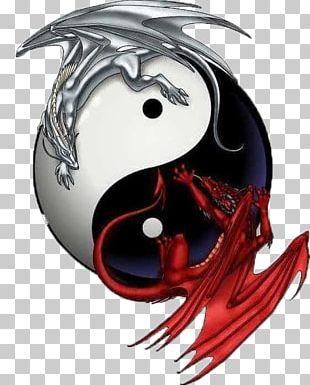 Yin And Yang Chinese Dragon Japanese Dragon PNG