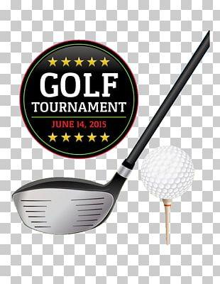 Golf Ball Flyer Illustration PNG