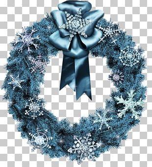 Wreath Christmas Tree Christmas Card PNG