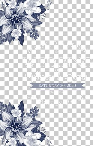 Floral Design Monochrome Black And White Pattern PNG