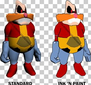 Doctor Eggman 3D Modeling Three-dimensional Space 3D Computer Graphics Character PNG